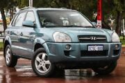2006 Hyundai Tucson JM City Blue 4 Speed Sports Automatic Wagon Wilson Canning Area Preview
