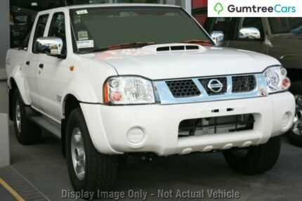 2011 Nissan Navara D22 S5 ST-R White 5 Speed Manual Utility Ringwood East Maroondah Area Preview