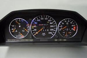 Mercedes Instrument cluster odometer repair odo