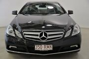 2010 Mercedes-Benz E250 CDI C207 BlueEFFICIENCY Elegance Black 5 Speed Sports Automatic Coupe Mansfield Brisbane South East Preview