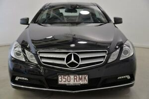 2010 Mercedes-Benz E250 CDI C207 BlueEFFICIENCY Elegance Black 5 Speed Sports Automatic Coupe