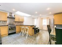 3 Proper Double Bed Garden Flat in Converted House in Residential Rd 5 min walk of Clapham Junction.