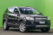 2007 Holden Captiva CG LX AWD Black 5 Speed Sports Automatic Wagon Ringwood East Maroondah Area Preview