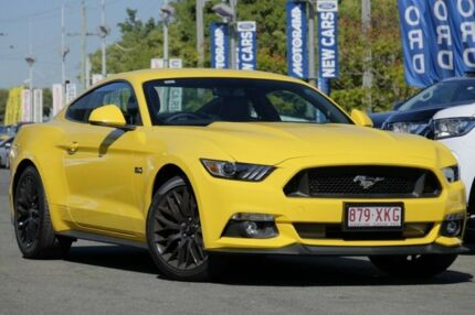 2017 Ford Mustang FM MY17 GT Fastback Triple Yellow 6 Speed Manual Fastback