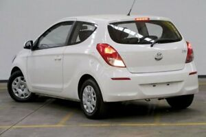2013 Hyundai i20 PB MY14 Active White 6 Speed Manual Hatchback Brooklyn Brimbank Area Preview