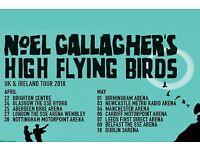 2 x Noel Gallagher High Flying Birds Tickets - Glasgow Hydro 24/4/18