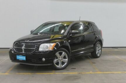 2012 Dodge Caliber PM MY12 SXT Black 6 Speed Constant Variable Hatchback Brooklyn Brimbank Area Preview
