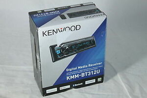 Kenwood KMM-BT312U Car Stereo