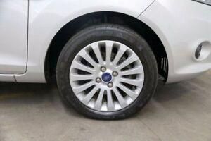 2013 Ford Fiesta WT LX PwrShift Silver 6 Speed Sports Automatic Dual Clutch Hatchback