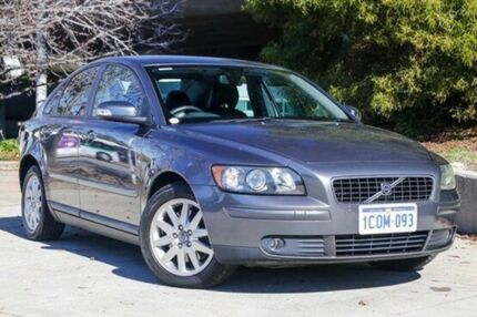 2007 Volvo S40 M Series MY07 LE Grey 5 Speed Sports Automatic Sedan Glendalough Stirling Area Preview