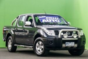 2008 Nissan Navara D40 ST-X Grey 5 Speed Automatic Utility Ringwood East Maroondah Area Preview
