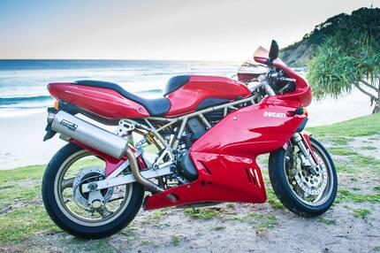1998 Ducati 750SS Full Fairing Supersport - regrettable sale.