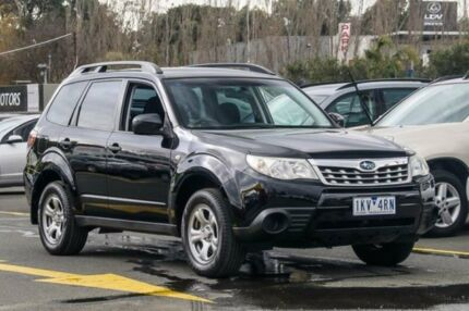 2011 Subaru Forester S3 MY11 X AWD Black 4 Speed Sports Automatic Wagon Ringwood East Maroondah Area Preview