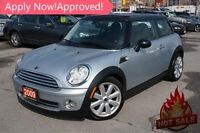 2009 MINI COOPER, PANO ROOF,LEATHER,EXTRA SET OF RIMS AND TIRES