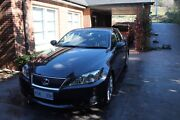 2009 Lexus IS250 Sedan Canberra City North Canberra Preview