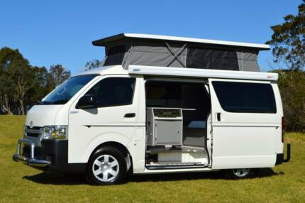 2016 Toyota Frontline Automatic Campervan with Very Low Km