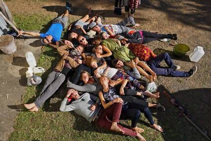 COME AS STRANGERS , LEAVE AS FAMILY! in our permaculture farm!