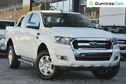 2017 Ford Ranger PX MkII XLT Super Cab Cool White 6 Speed Sports Automatic Utility Mount Pleasant Mackay City Preview