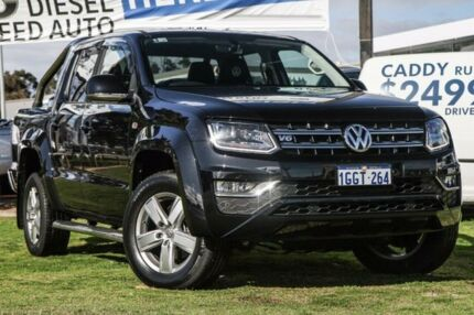 2017 Volkswagen Amarok 2H MY17 TDI550 4MOTION Perm Highline Black 8 Speed Automatic Utility Wilson Canning Area Preview