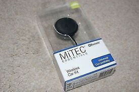 Hands Free BlueTooth Kit. MiTech. CARS HANDS FREE BLUETOOTH KIT. BRAND NEW