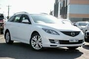 2008 Mazda 6 GH1051 Classic White 5 Speed Sports Automatic Wagon Coburg Moreland Area Preview