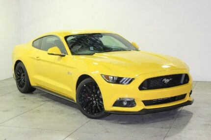 2017 Ford Mustang FM MY17 Fastback GT 5.0 V8 Triple Yellow 6 Speed Manual Coupe