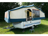conway cruiser trailer tent with large awning