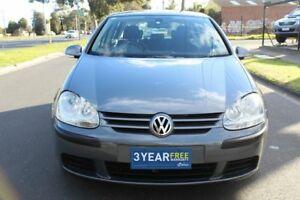 2007 Volkswagen Golf V MY07 Comfortline DSG Grey 6 Speed Sports Automatic Dual Clutch Hatchback
