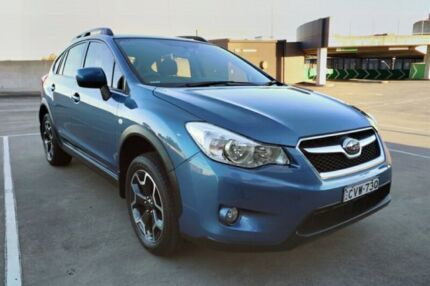 2014 Subaru XV G4X MY14 2.0i-L Lineartronic AWD Blue 6 Speed Constant Variable Wagon