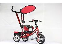 Kids Tricycle with Parent Handle as Good as New