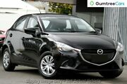 2017 Mazda 2 DJ2HAA Neo SKYACTIV-Drive Jet Black 6 Speed Sports Automatic Hatchback West Hindmarsh Charles Sturt Area Preview