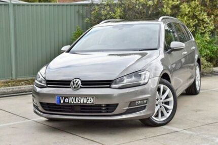 2016 Volkswagen Golf VII MY17 110TDI DSG Highline Grey 6 Speed Sports Automatic Dual Clutch Wagon