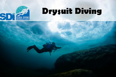 SDI ONLINE DRYSUIT ELEARNING COURSE & FINISH TRAINING WITH ANY SCUBA INSTRUCTOR