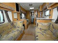 2010 LUNAR QUASAR 524 4 Berth Touring Caravan