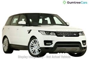 2016 Land Rover Range Rover Sport L494 16.5MY TdV6 CommandShift SE White 8 Speed Sports Automatic Nedlands Nedlands Area Preview