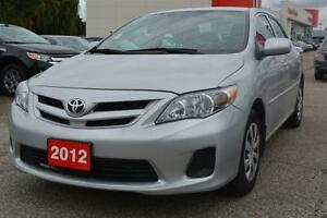 2012 Toyota Corolla - like new - reduced price