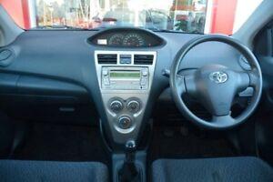 2010 Toyota Yaris NCP93R MY10 YRS Quicksilver 5 Speed Manual Sedan