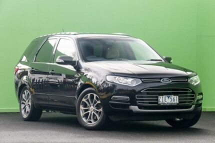 2012 Ford Territory SZ Titanium Seq Sport Shift Black 6 Speed Sports Automatic Wagon Ringwood East Maroondah Area Preview