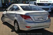 2016 Hyundai Accent RB3 MY16 Active Orange 6 Speed Constant Variable Sedan Osborne Park Stirling Area Preview