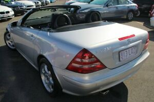 2001 Mercedes-Benz SLK230 Kompressor R170 Silver 5 Speed Automatic Roadster