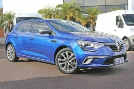 2016 Renault Megane Blue Sports Automatic Dual Clutch Hatchback Wangara Wanneroo Area Preview