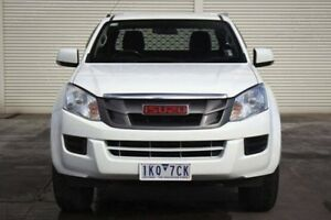 2012 Isuzu D-MAX MY12 SX Space Cab White 5 Speed Manual Cab Chassis Seaford Frankston Area Preview