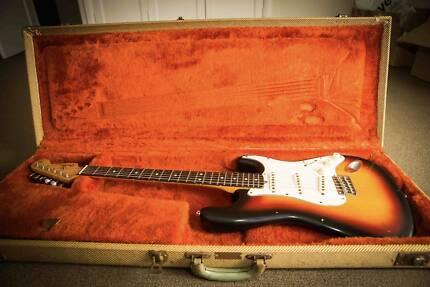 Fender Stratocaster 1962 re-issue (1986) w/ Original Tweed Case