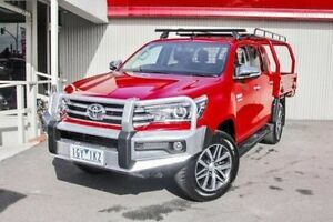 2016 Toyota Hilux Red Manual Utility Dandenong Greater Dandenong Preview