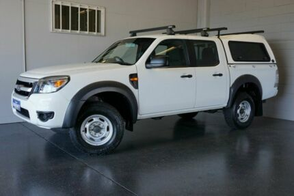 2009 Ford Ranger PK XL HI-Rider (4x2) White 5 Speed Automatic Dual Cab Pick-up