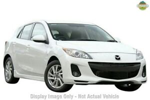 2013 Mazda 3 BL10F2 MY13 Maxx Activematic Sport White 5 Speed Sports Automatic Hatchback Taringa Brisbane South West Preview