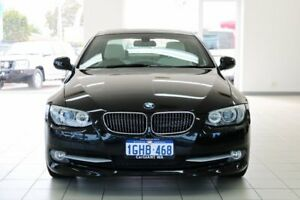 2012 BMW 330D E92 MY11 Black 7 Speed Auto Direct Shift Coupe