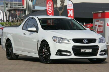 2014 Holden Ute VF SS-V Redline White 6 Speed Automatic Utility