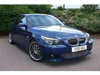 Bmw 530 m sport petrol 2005 fully loaded fsh sroof,satnav,leather in stunning condition