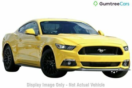 2017 Ford Mustang FM MY17 GT Fastback SelectShift Triple Yellow 6 Speed Sports Automatic Fastback Mount Pleasant Mackay City Preview